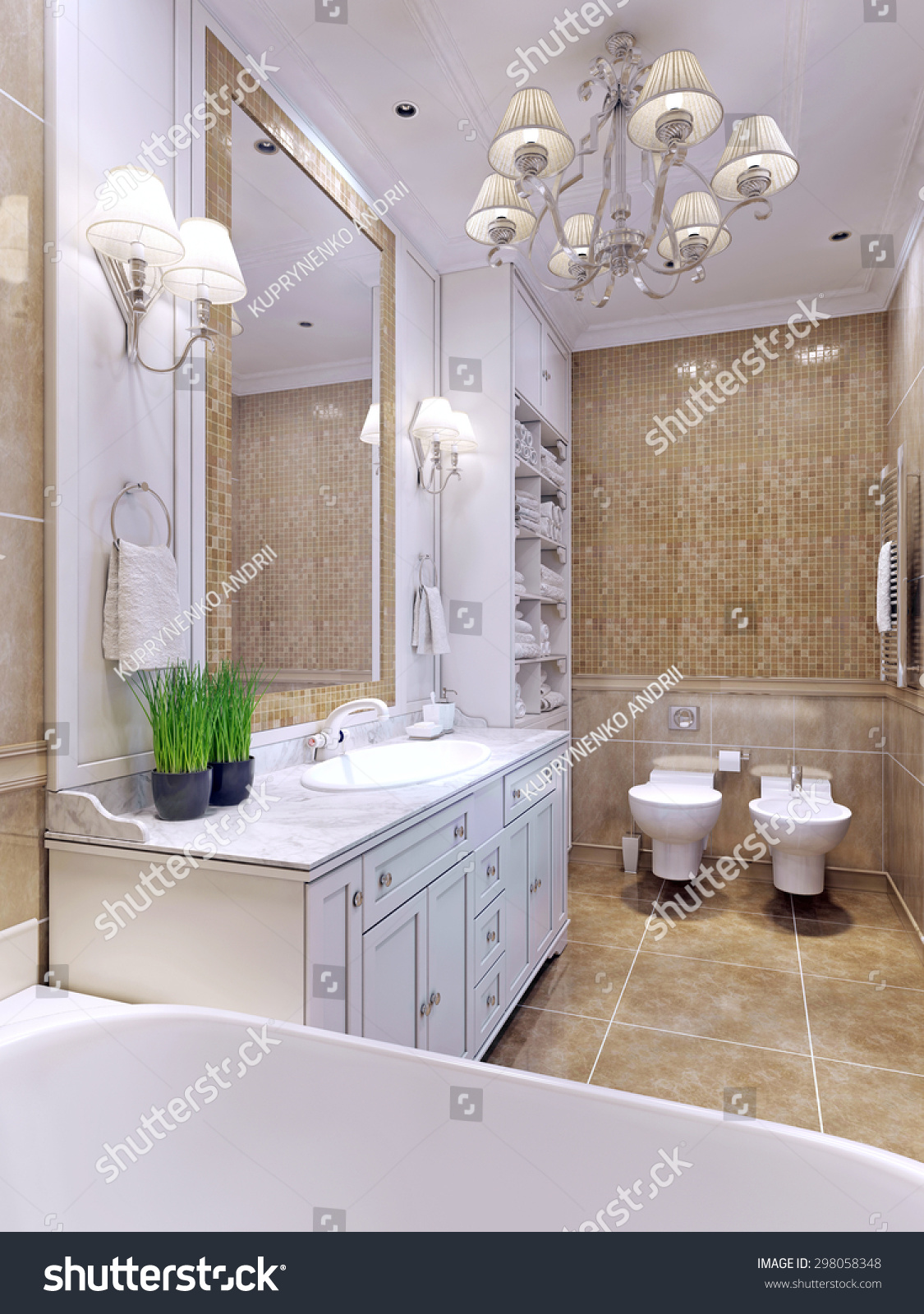 Bathroom charming bright best bathroom though white throughout this bathroom adds a charming - Amazing classic luxury bathroom inspirations tranquil retreat ...
