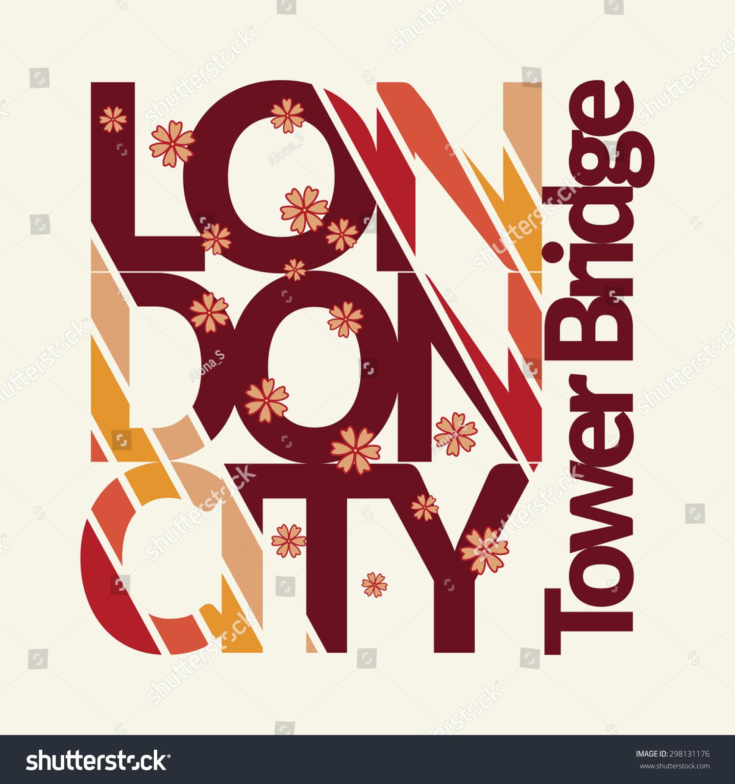 Shirt design london - Capital Of Fashion And Tourism T Shirt Graphic Design London Typography Emblem
