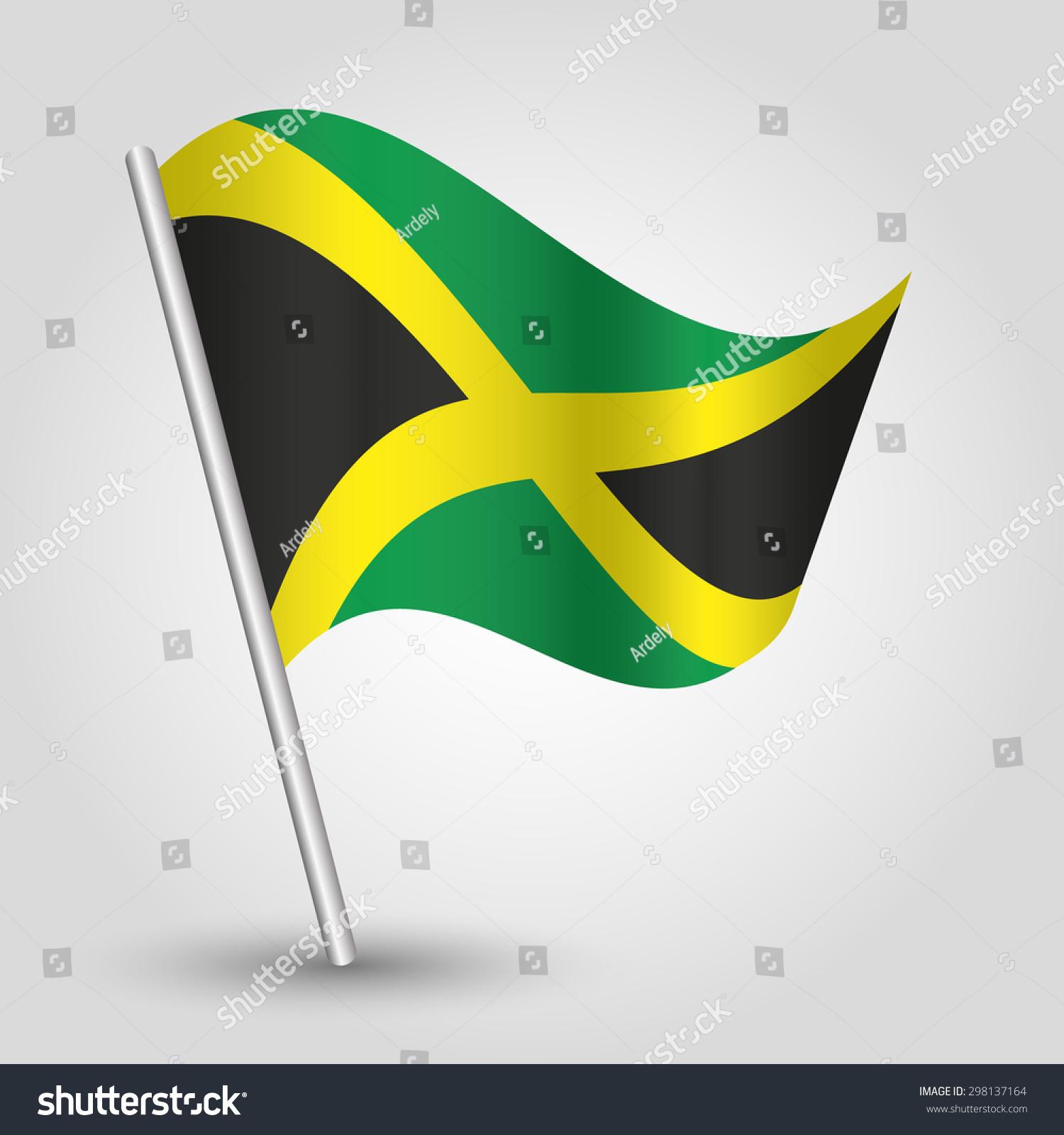 jamaican flag pole - photo #39