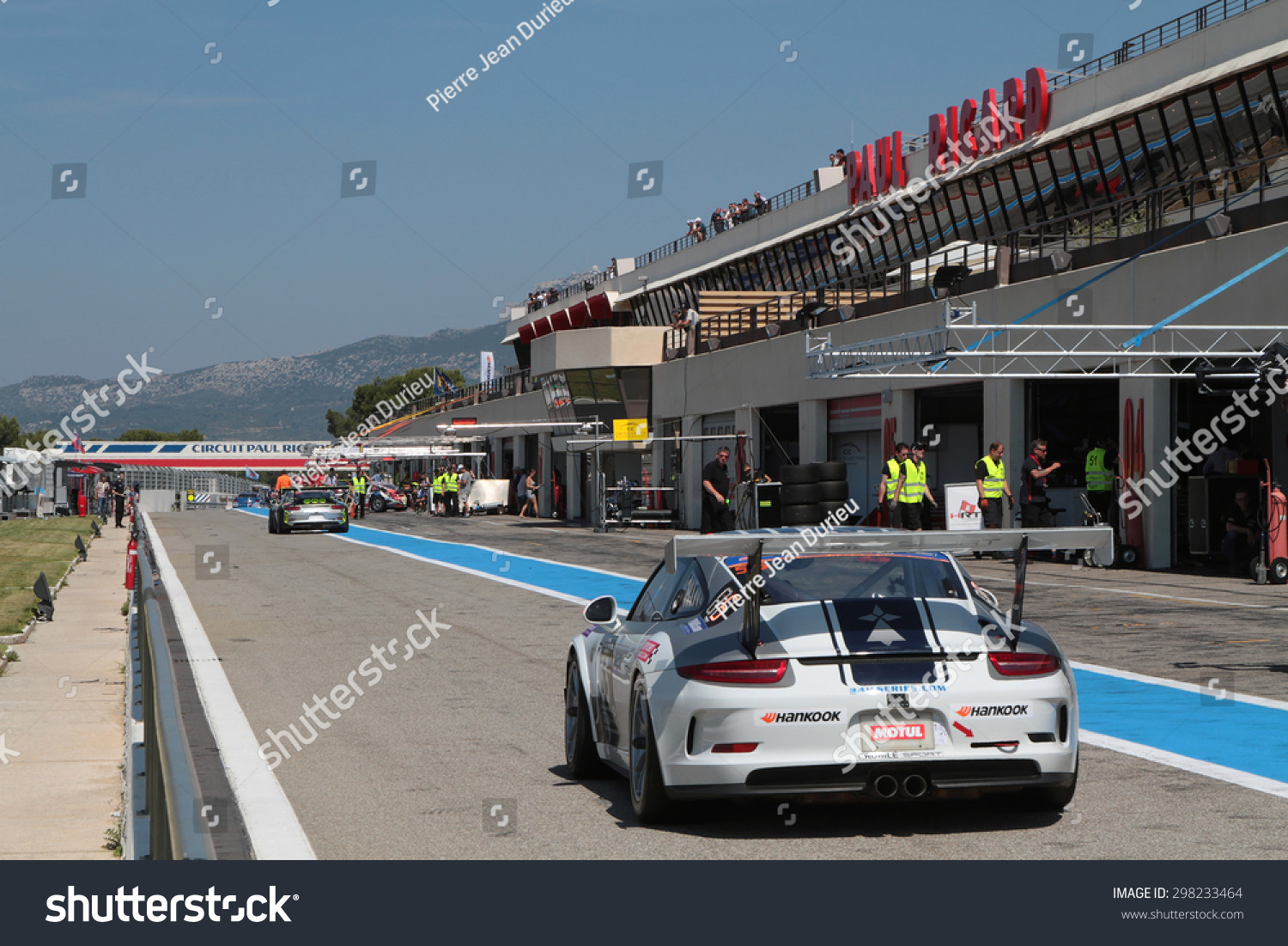 Le Castellet Circuit : Le castellet france july 11 2015 stock photo royalty free