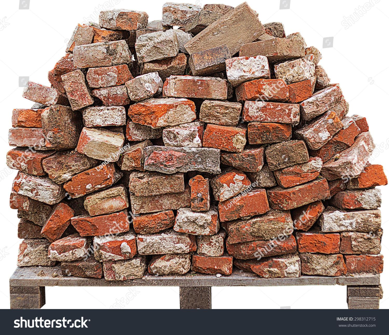 Pile Bricks Stock Photo 298312715 - Shutterstock