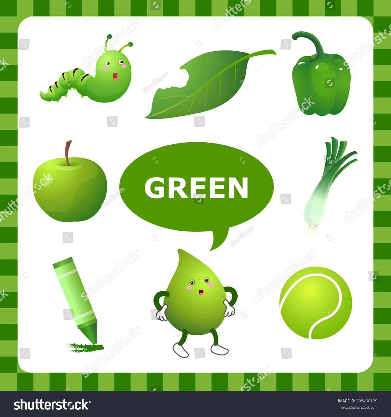 the Color Green Images Clip Art | colorimage.website