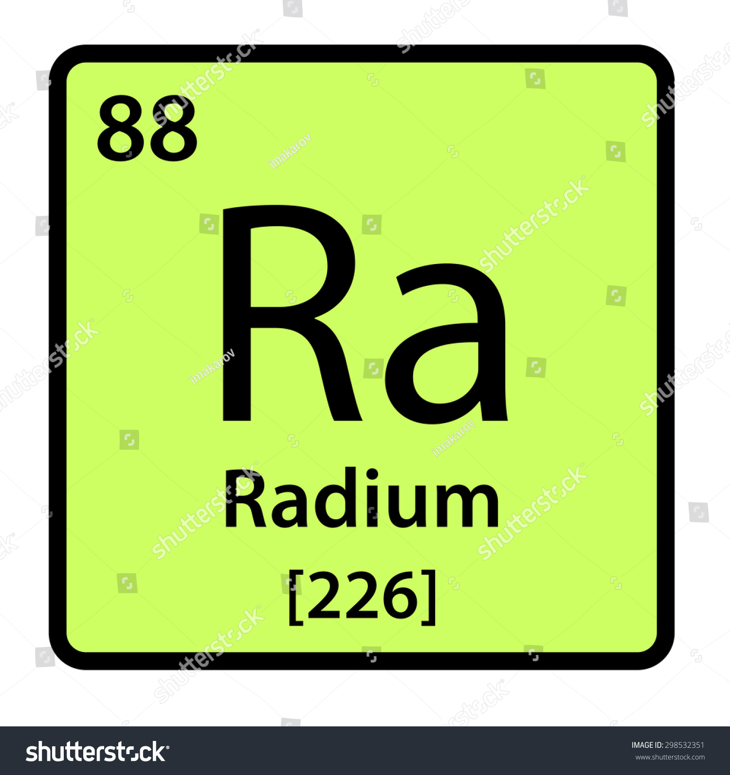 Element radium periodic table stock illustration 298532351 element radium of the periodic table gamestrikefo Images