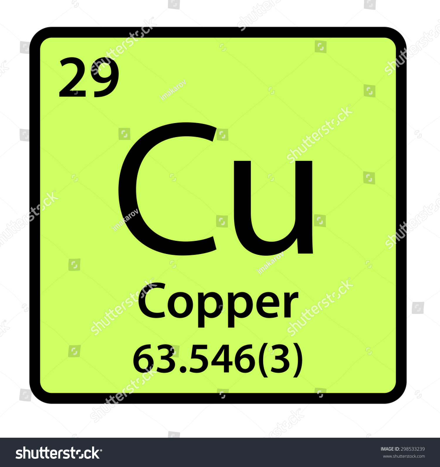 Element copper periodic table stock illustration 298533239 element copper of the periodic table gamestrikefo Images