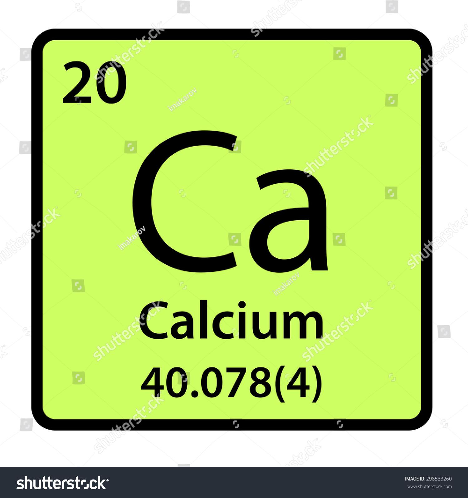 Element calcium periodic table stock illustration 298533260 element calcium of the periodic table gamestrikefo Images