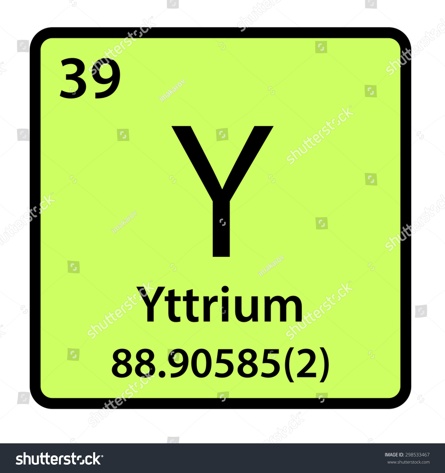 Yttrium Periodic Table Square | www.pixshark.com - Images ...