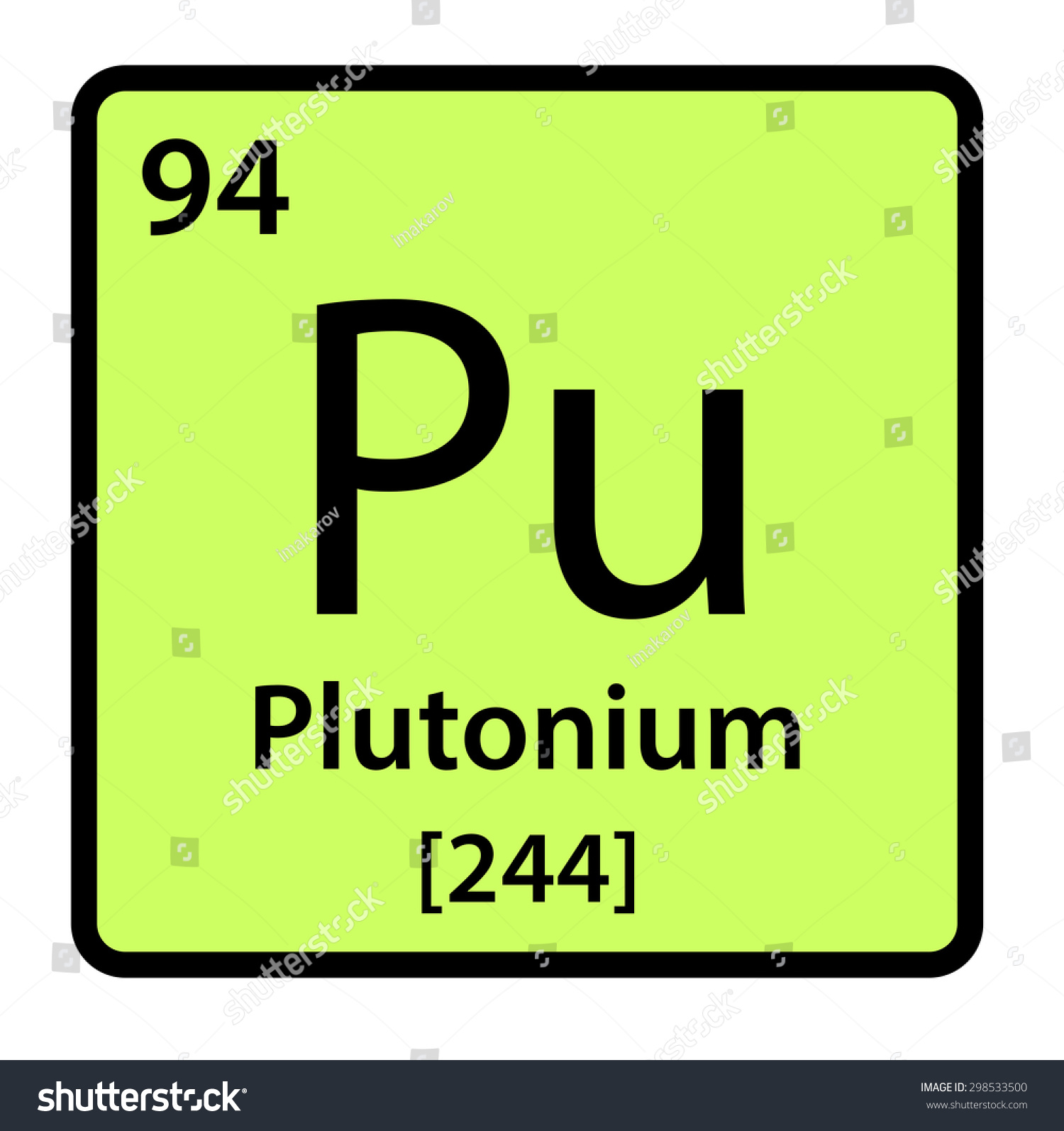 Element plutonium periodic table stock illustration 298533500 element plutonium of the periodic table gamestrikefo Image collections