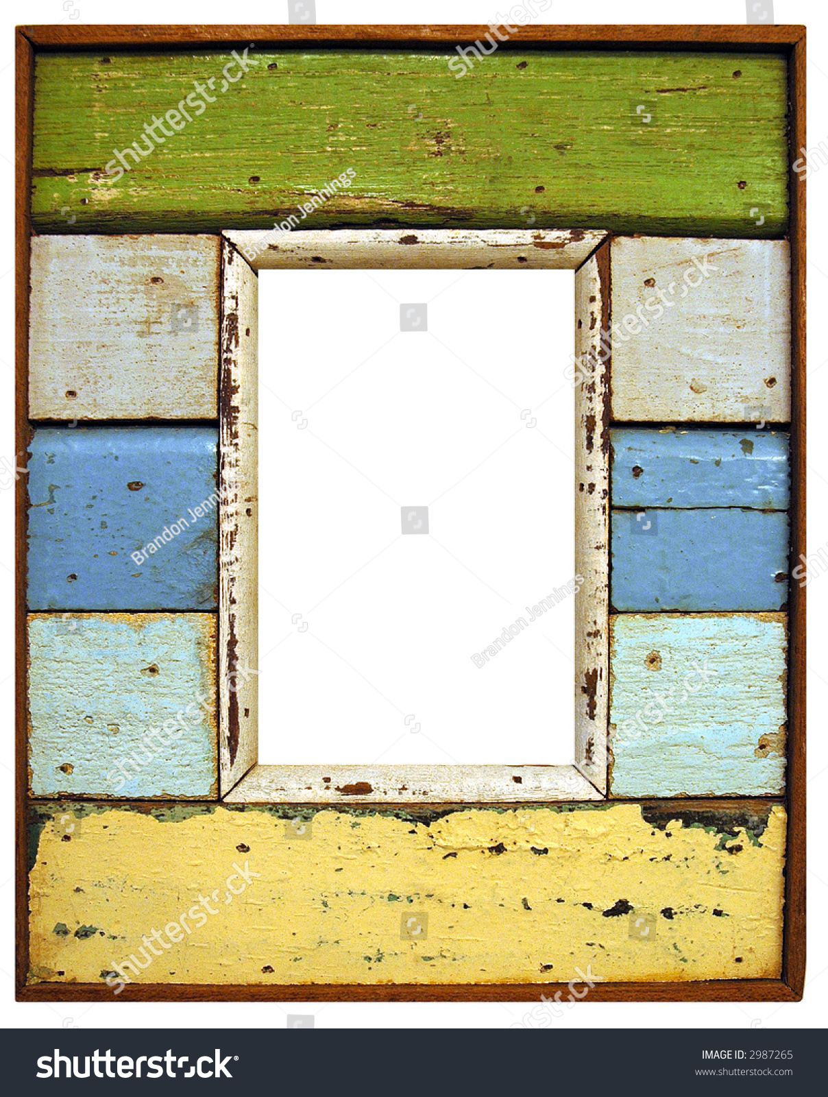 rustic wood frame preview save to a lightbox