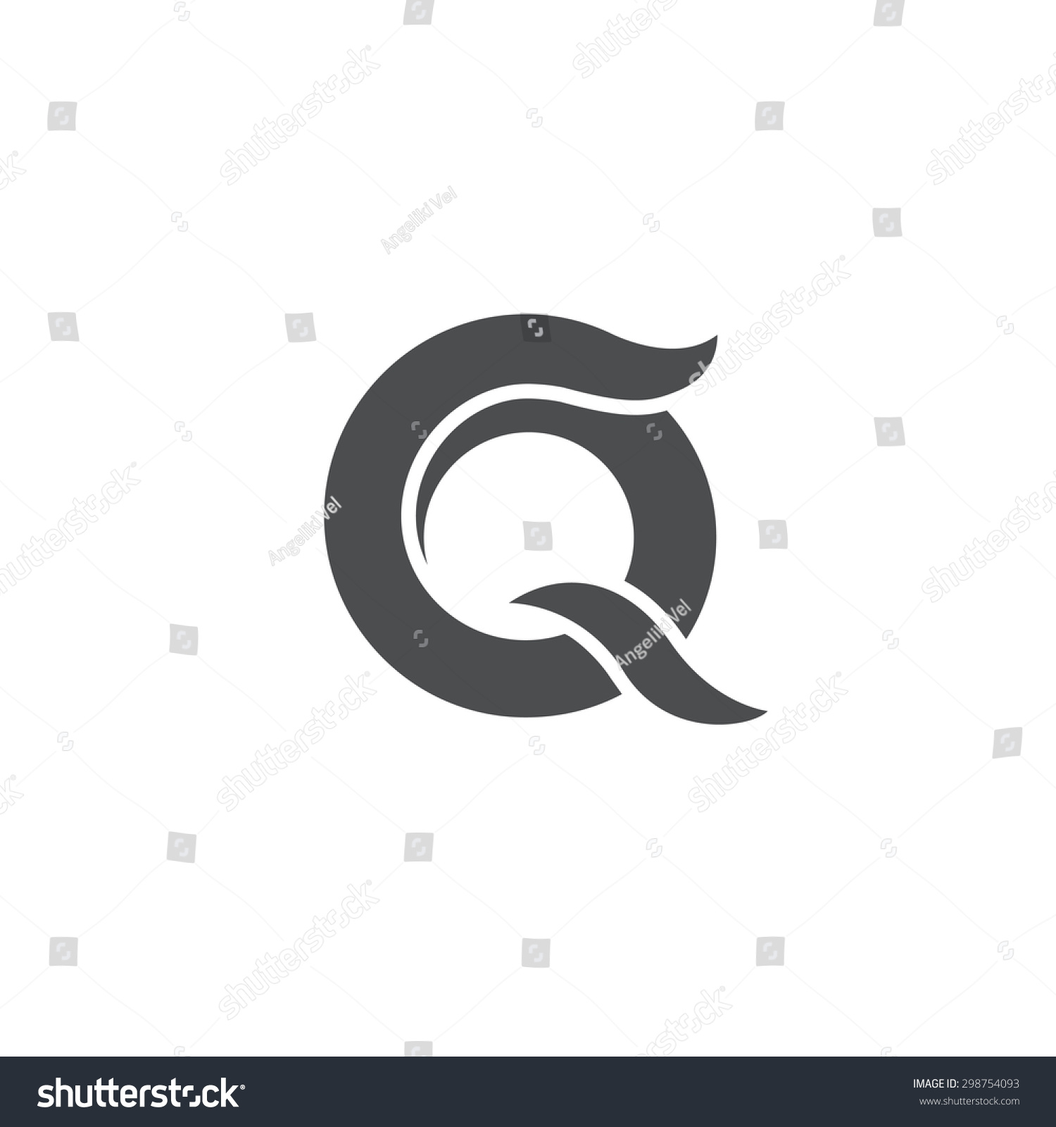 Letter Q Logo Symbol Vector Icon Stock Vector 298754093