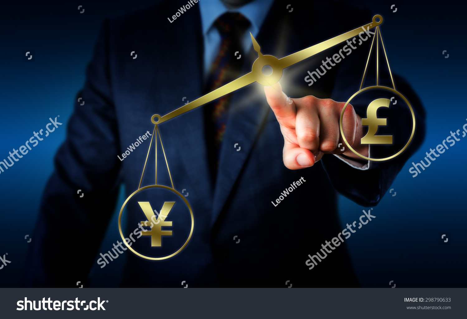 China yuan sign outweighing british pound stock illustration china yuan sign is outweighing the british pound sterling symbol on a golden balance torso biocorpaavc Gallery