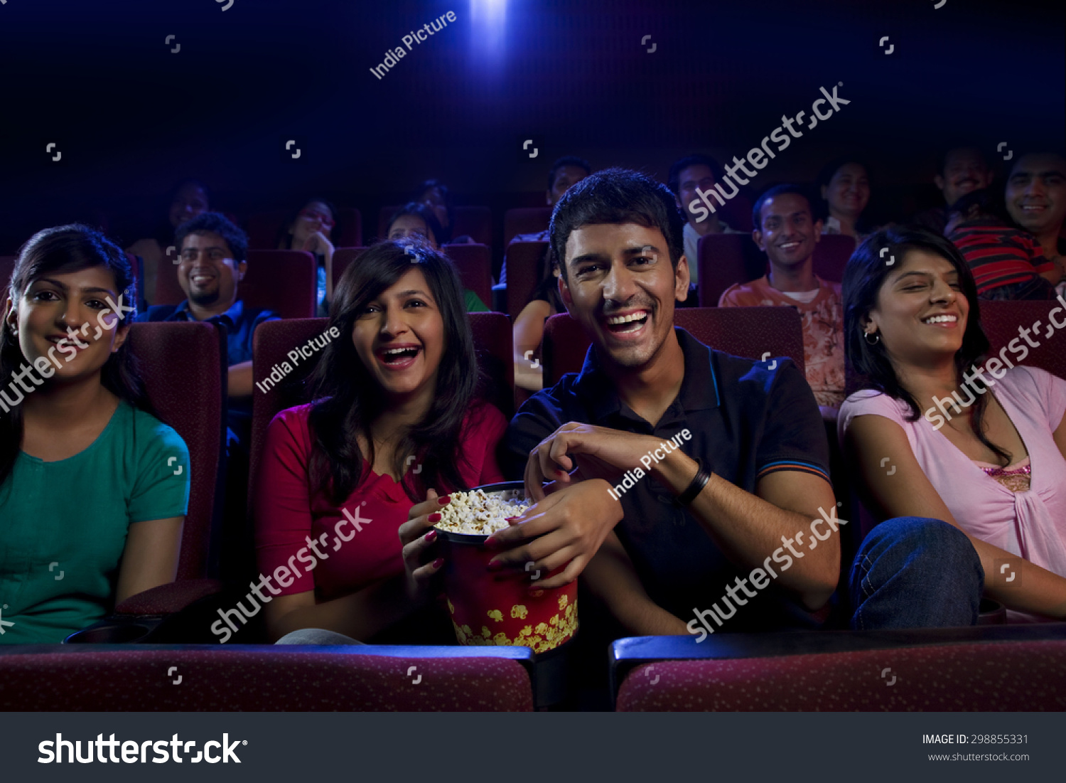 People watching a movie stock photo 298855331 shutterstock for People watching