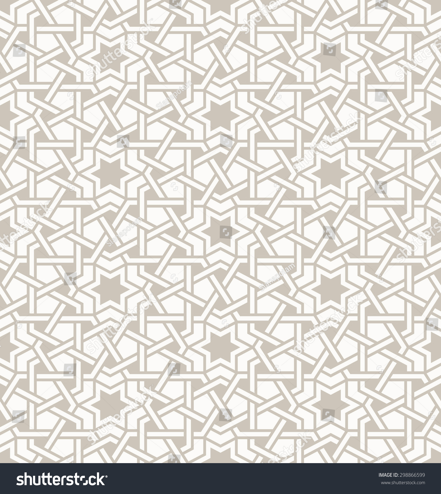 Royalty-free Tangled modern pattern, based on… #298866599 Stock ... for Modern Arabic Pattern Vector  131fsj