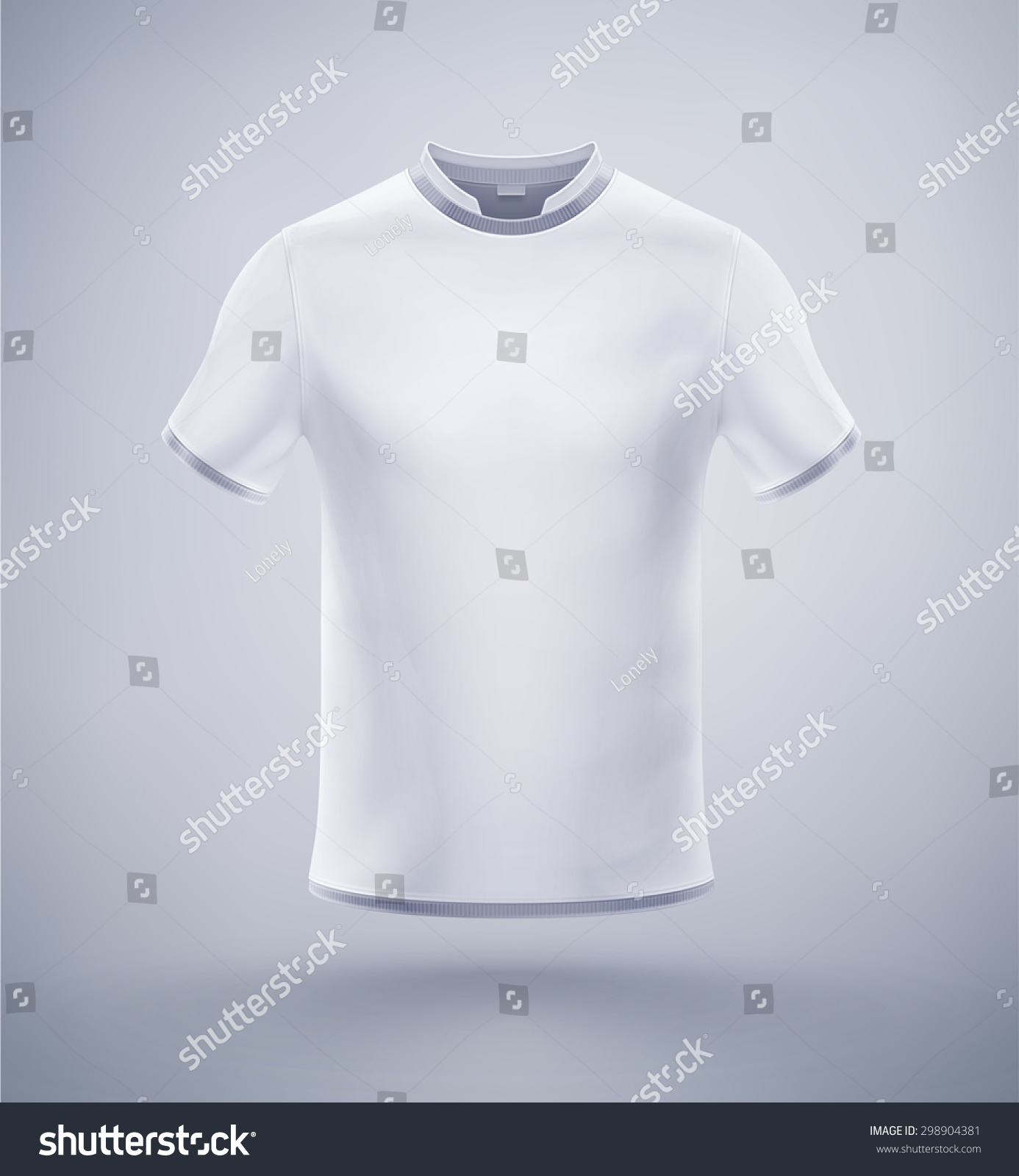 White t shirt eps - White Mens T Shirt Eps 10