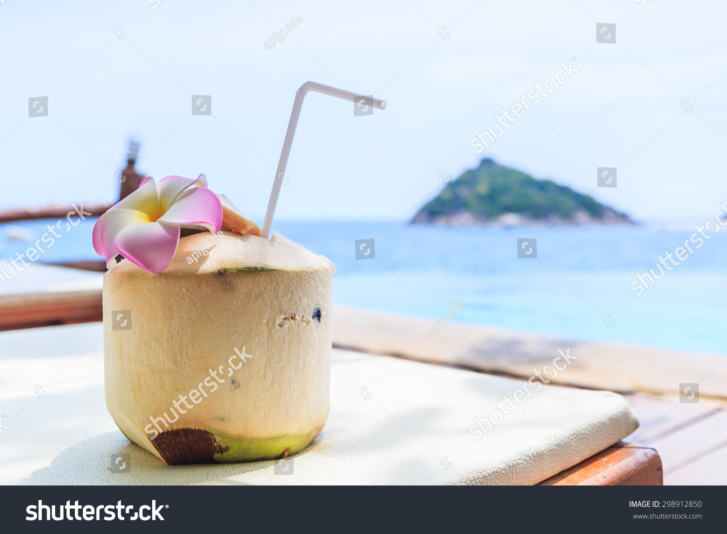 Coconut water drink swimming pool stock photo 298912850 shutterstock How to make swimming pool water drinkable