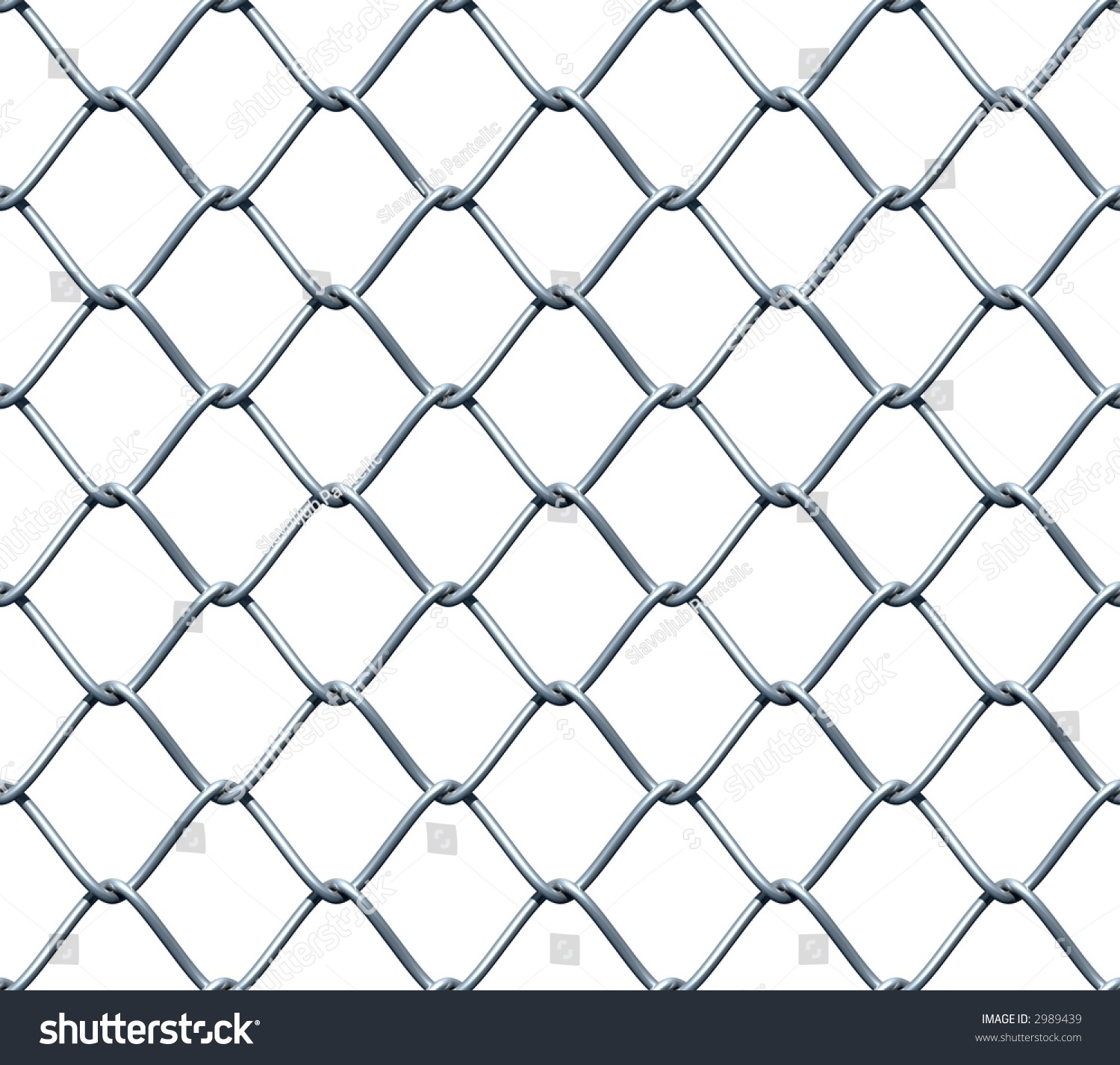 Seamless Chainlink Fence 3d Rendered Seamless Stock
