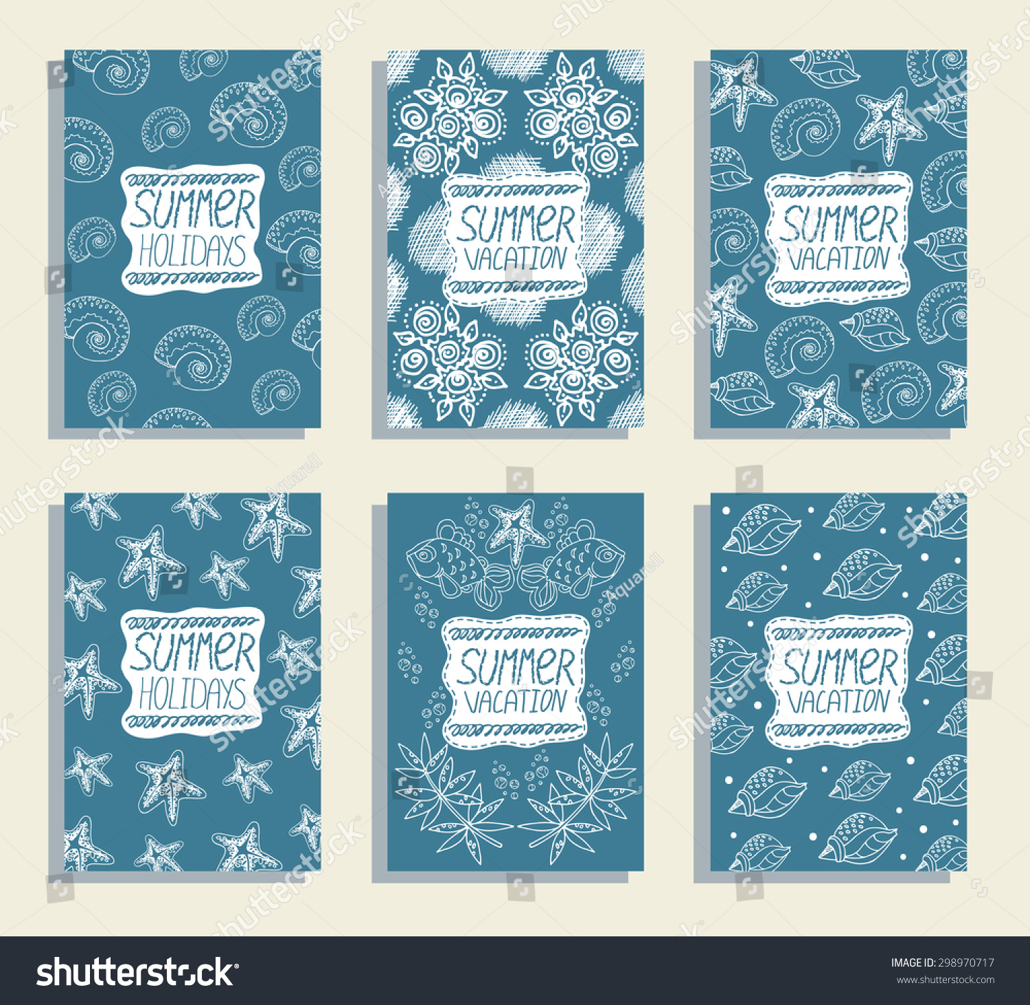 vacation greeting cards