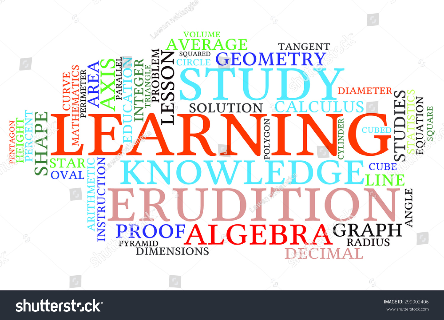 H tag background image - Shapes And Vocabulary Math Tag Word Cloud Background