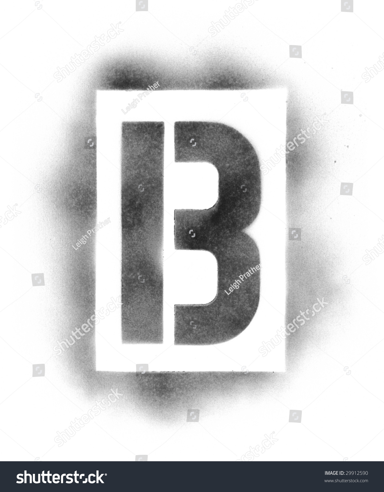 stencil letters in spray paint stock photo 29912590 shutterstock. Black Bedroom Furniture Sets. Home Design Ideas