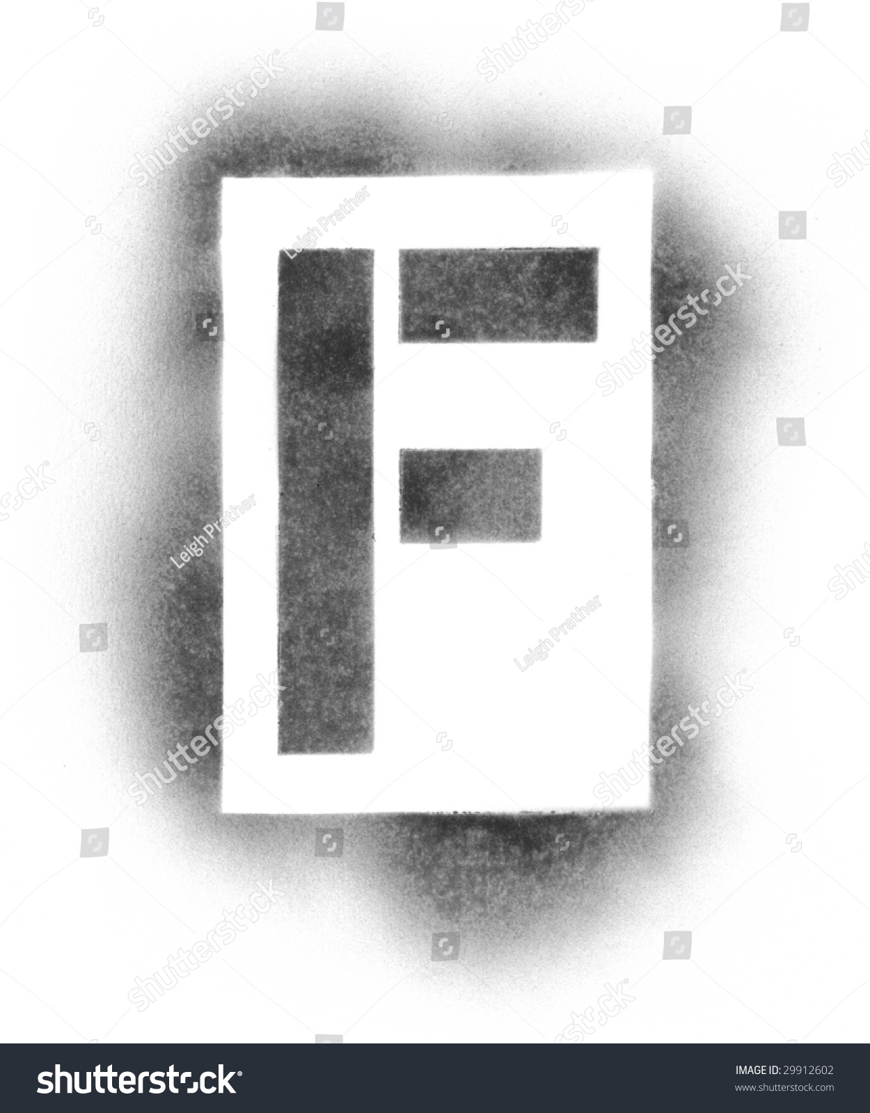 stencil letters in spray paint stock photo 29912602 shutterstock