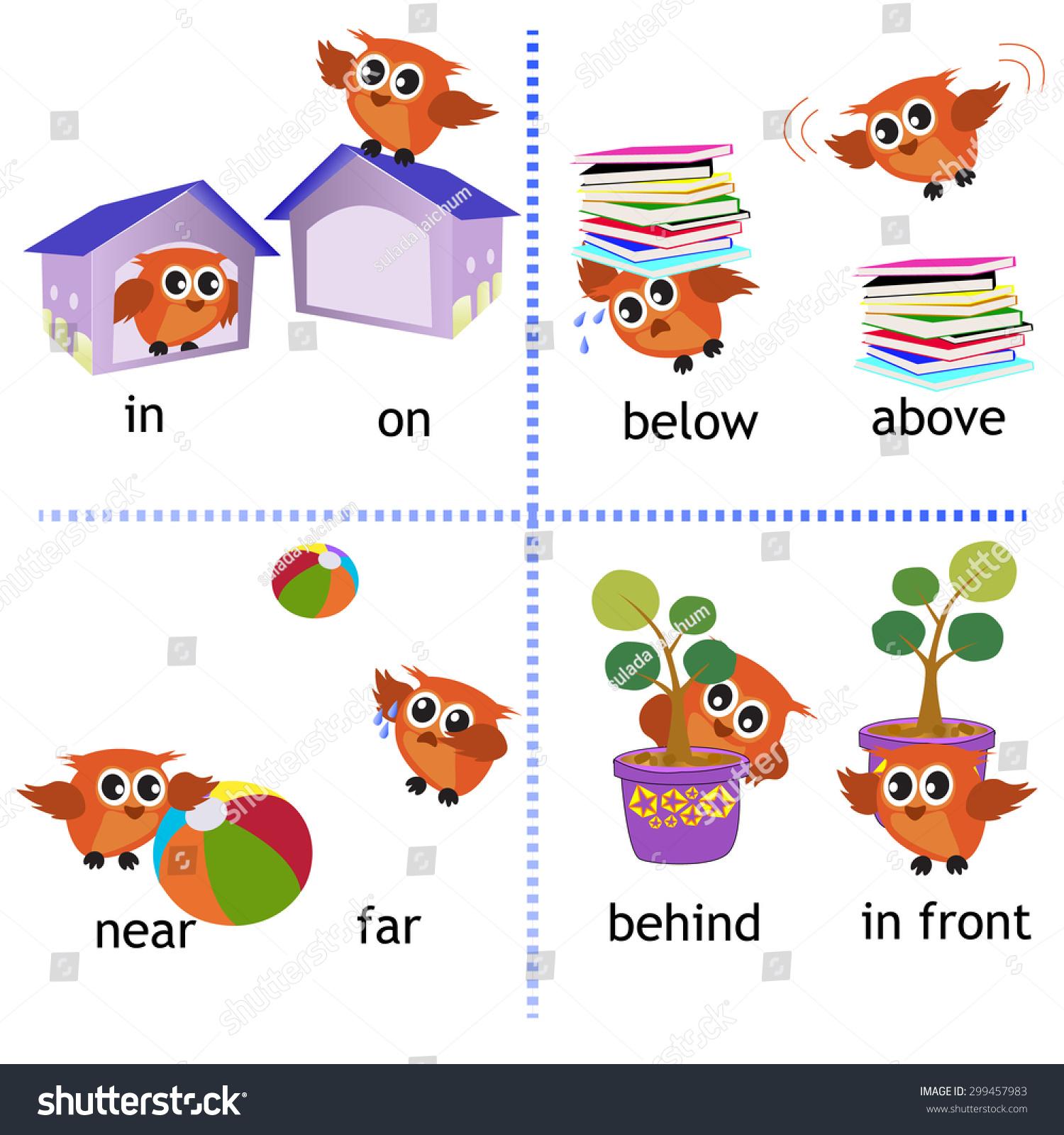 prepositions clip art below � cliparts