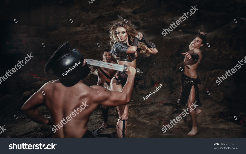 gladiator girls