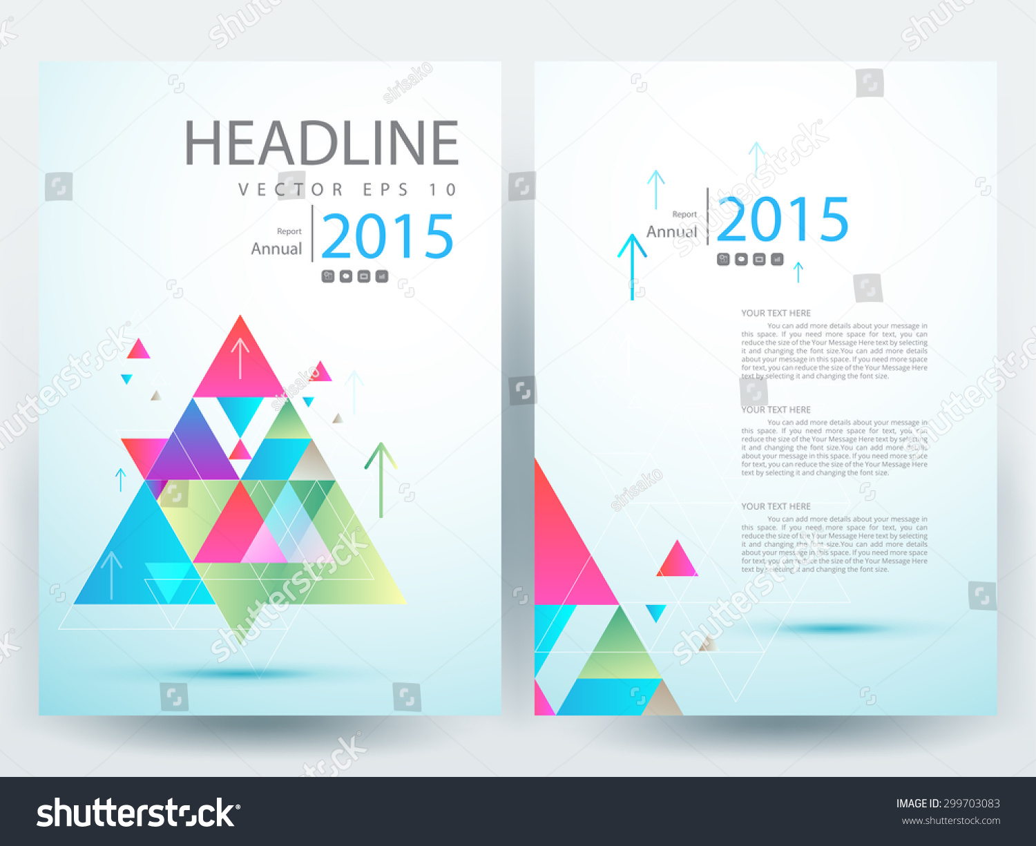 abstract vector modern flyer brochure annual stock vector abstract vector modern flyer brochure annual report design templates stationery white background