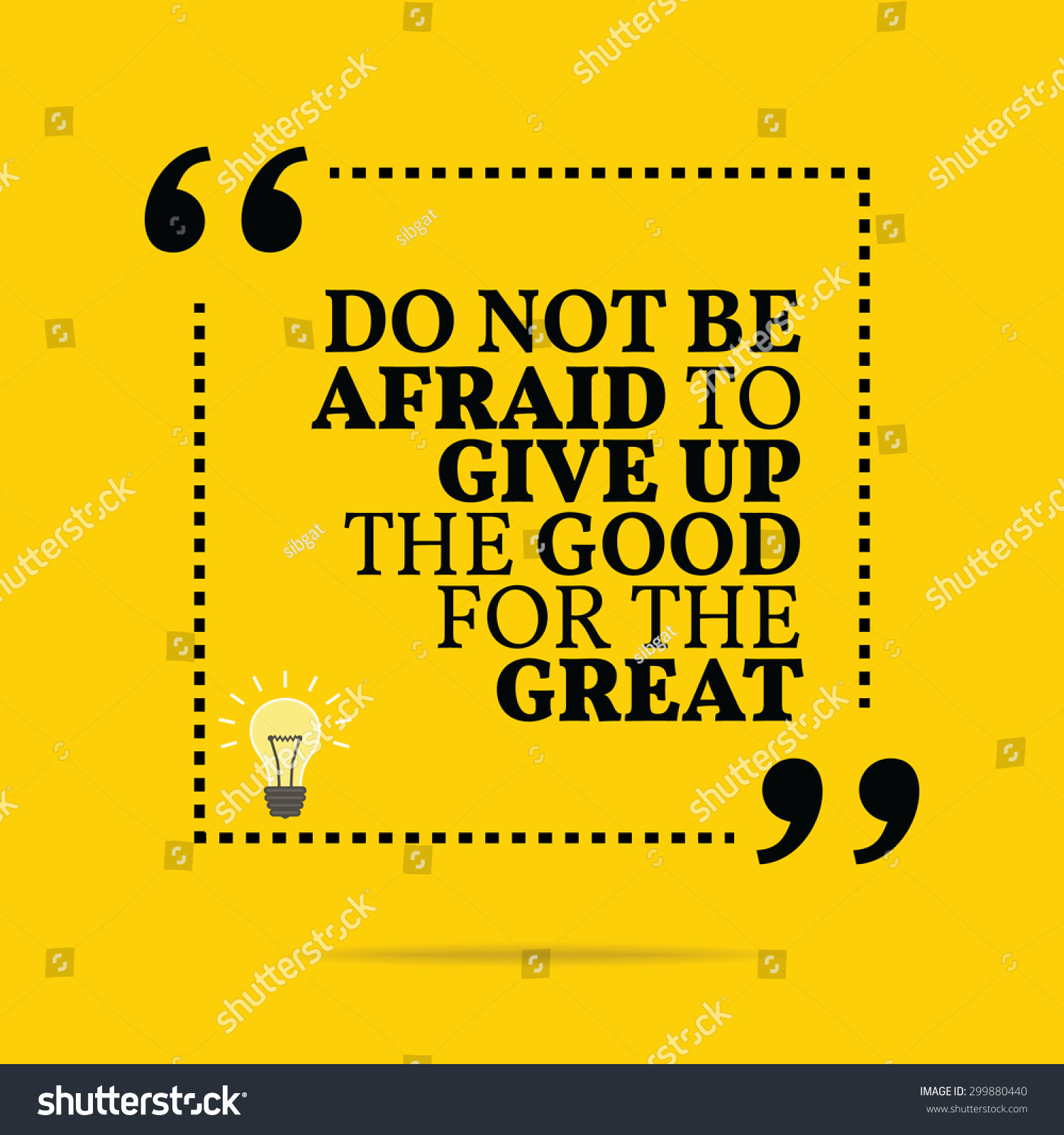 inspirational motivational quote do not be afraid to give