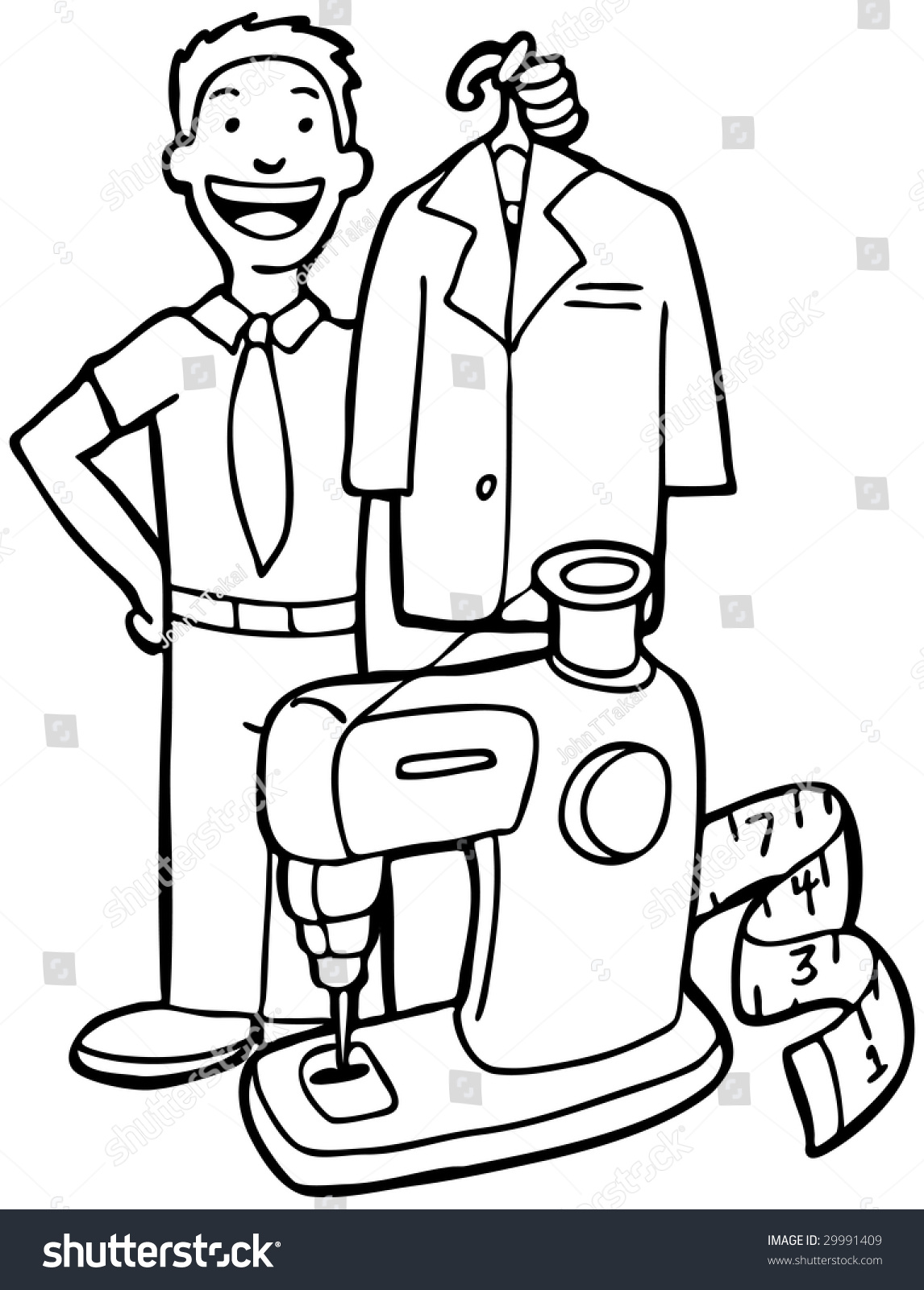 Dry Cleaning Service Stock Illustration 29991409 - Shutterstock