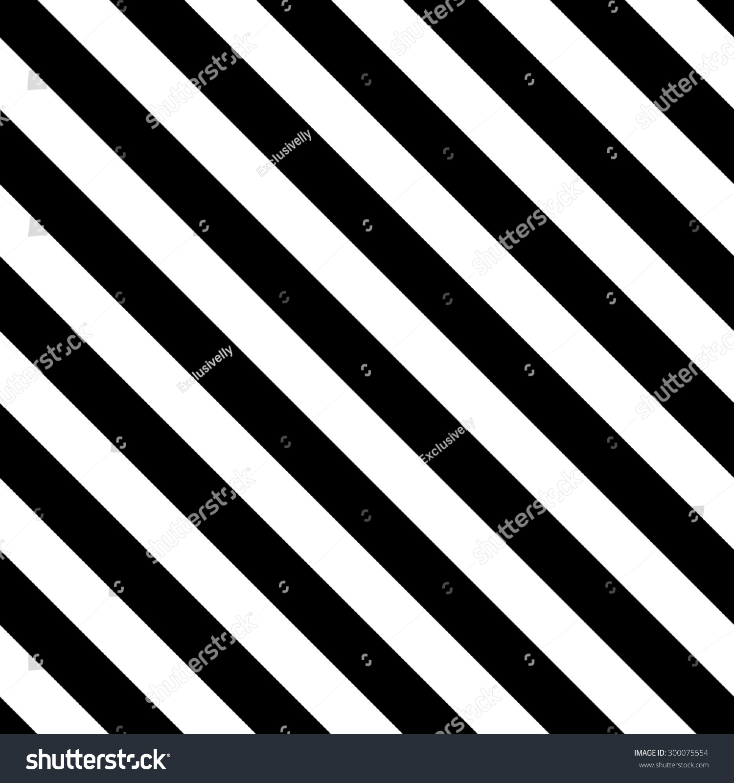 Black And White Diagonal Lines. Seamless Striped Background. Vector Simple  Modern Texture