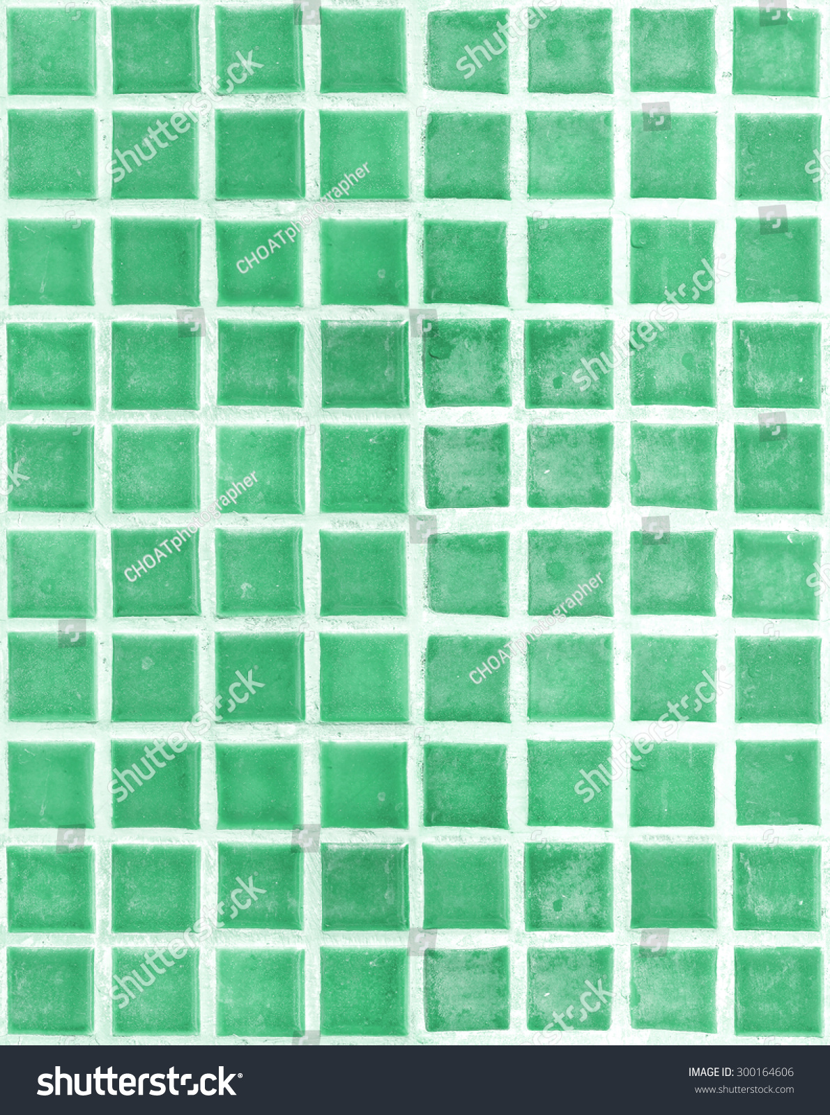 Green old square tile texture wall stock photo 300164606 green old square tile texture of wall and floor tile interior of bathroom pool dailygadgetfo Choice Image