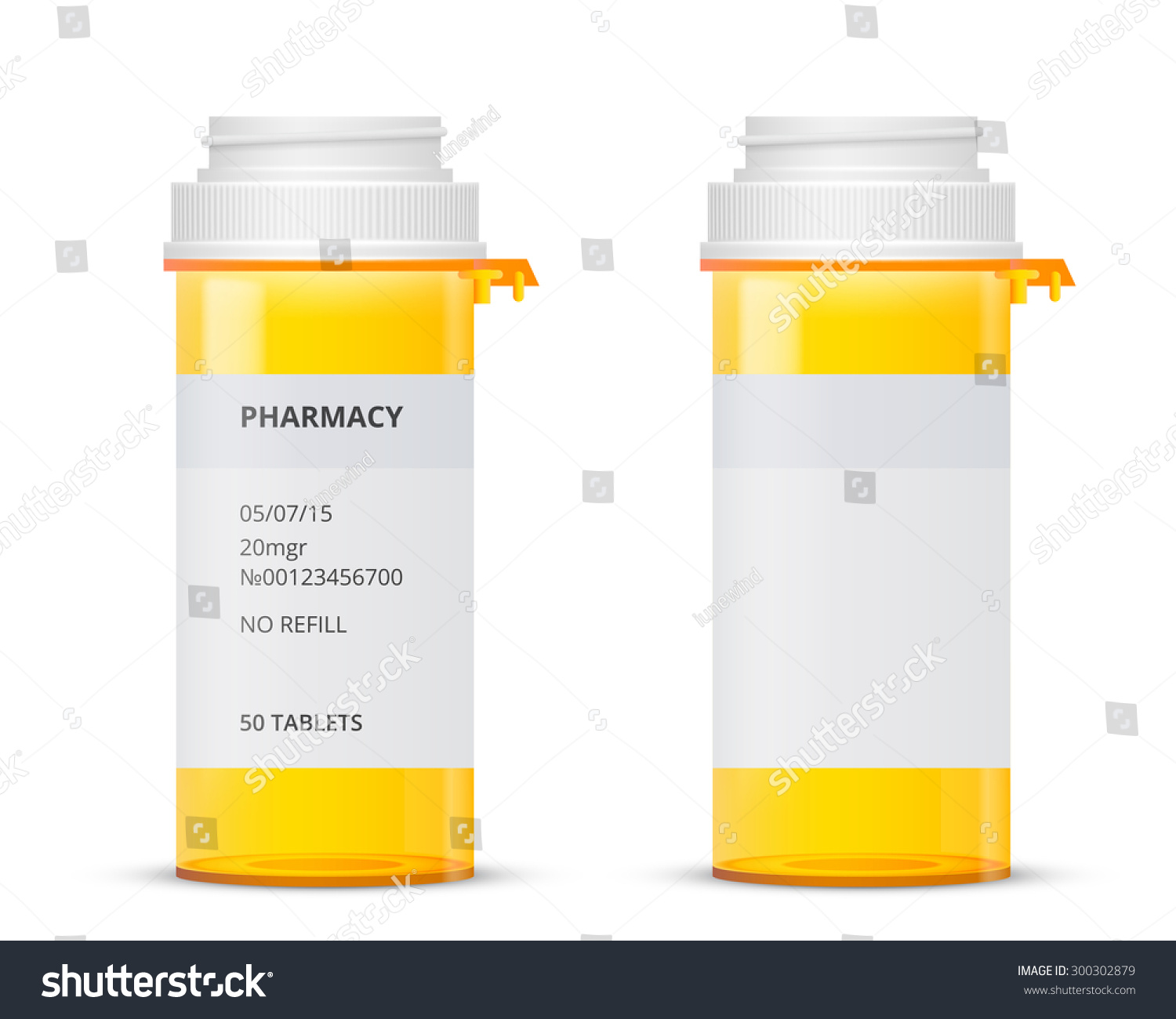 bottle prescription pill labels template vector stock vector 300302879 shutterstock. Black Bedroom Furniture Sets. Home Design Ideas