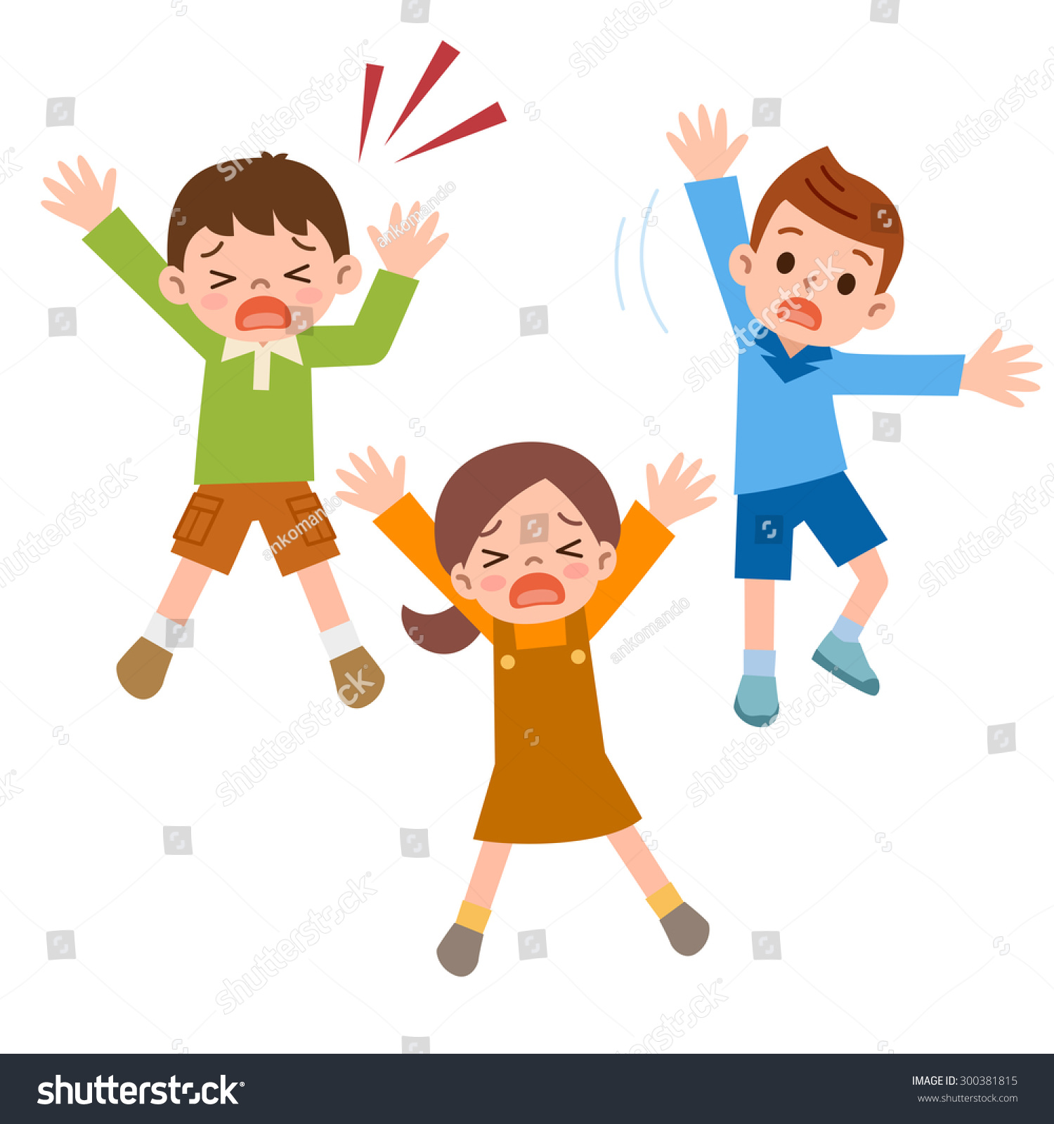 children who call help stock vector royalty free 300381815 rh shutterstock com Call Log Clip Art Team Clip Art