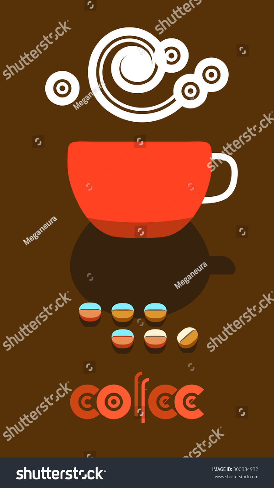 flyer banner menu cover design cafe stock vector (royalty free
