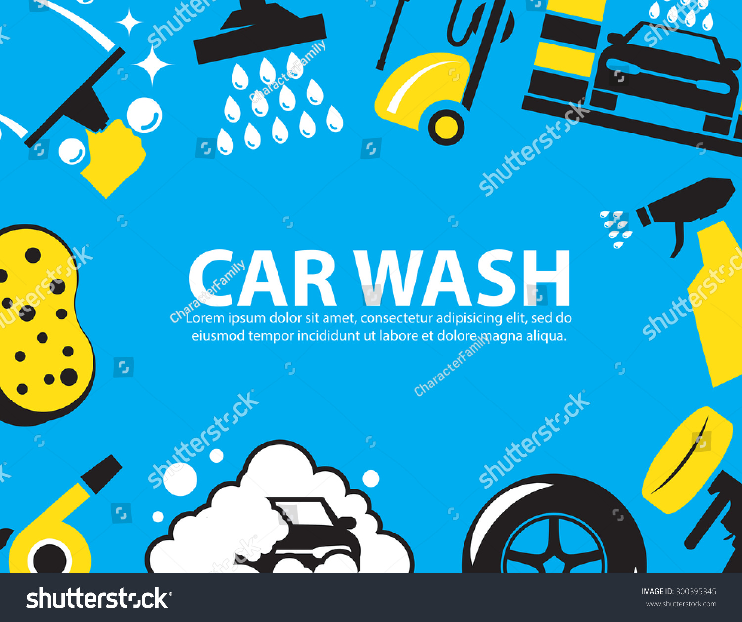 Car Wash Powerpoint Background