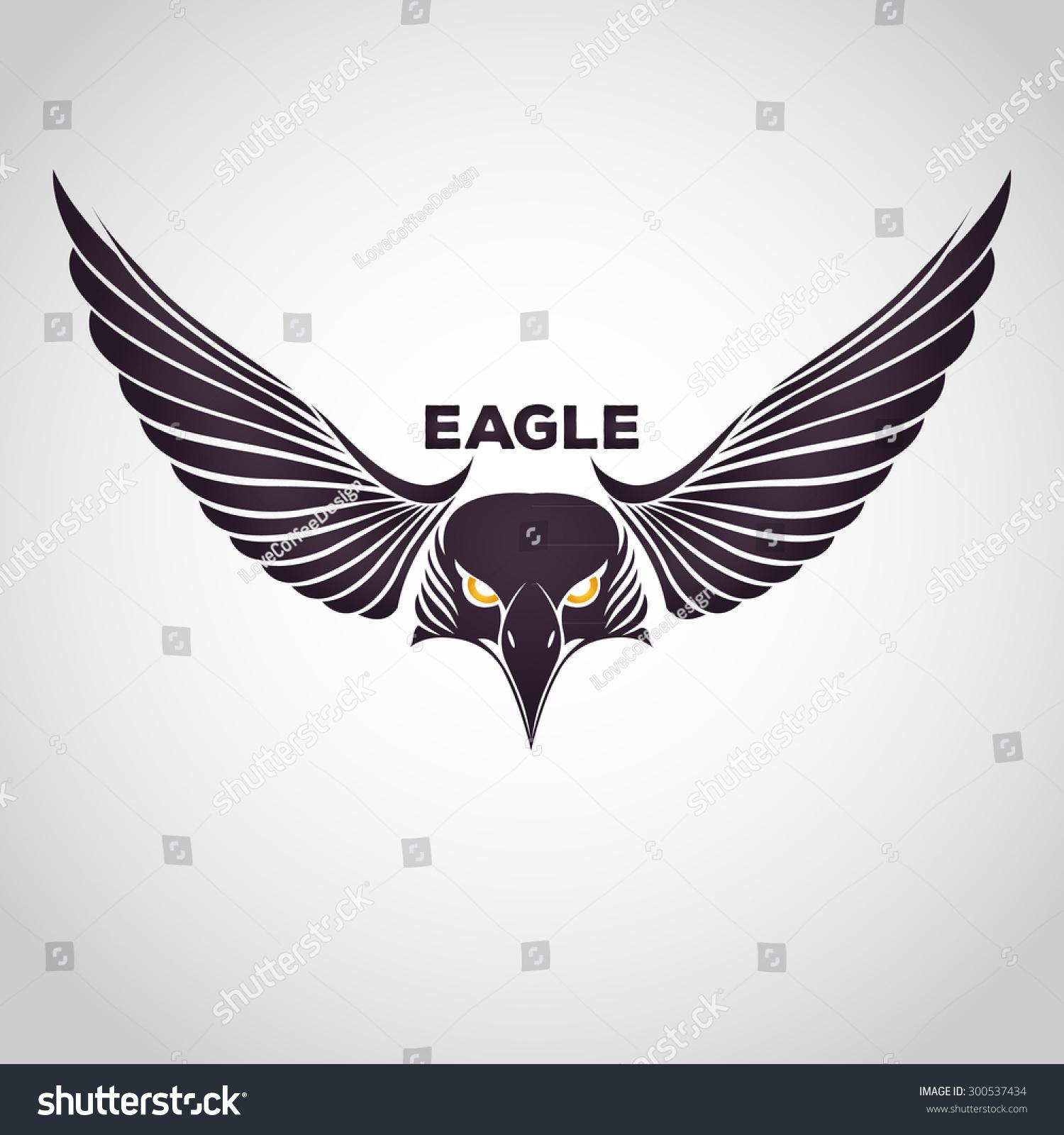 Eagle Logo Stock Vector 300537434 - Shutterstock