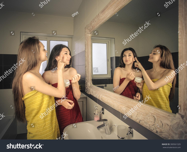 Girls bathrooms