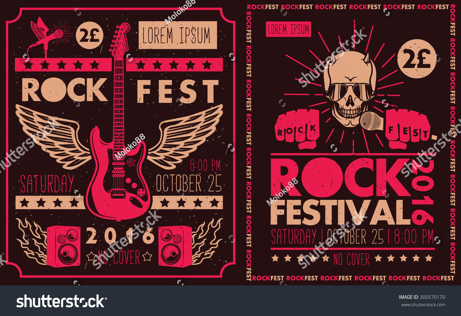 Vintage Rock And Roll Posters 68