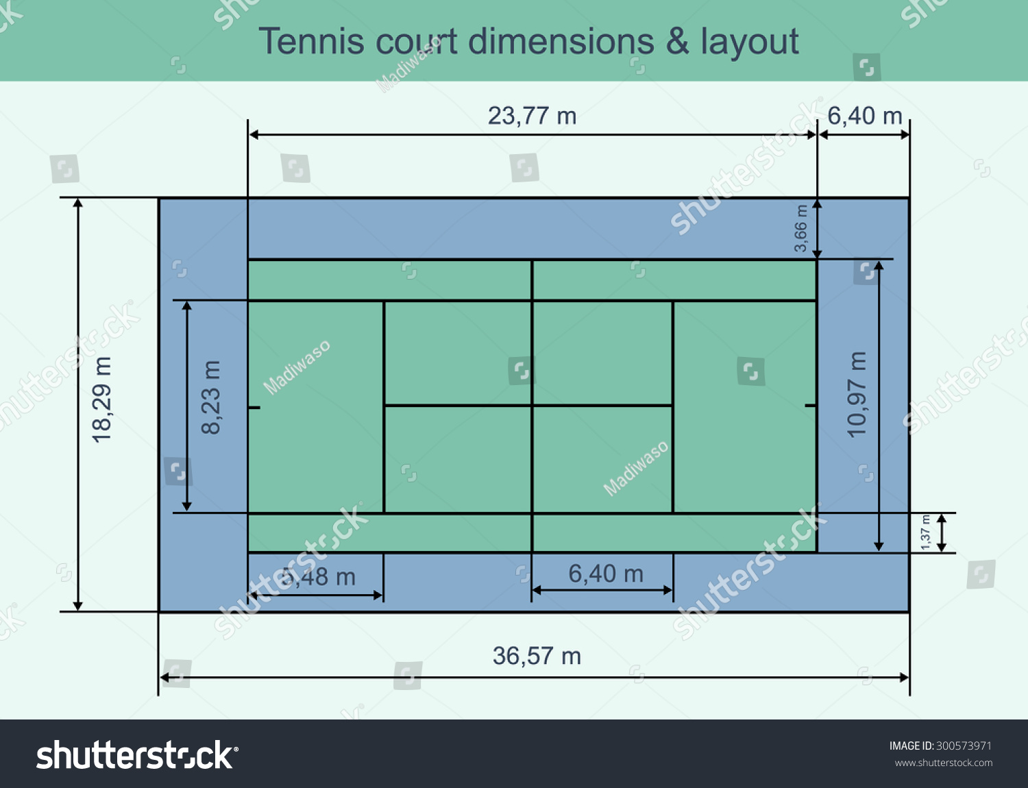 Tennis Court Dimensions : Tennis court diagram vector imgkid the image