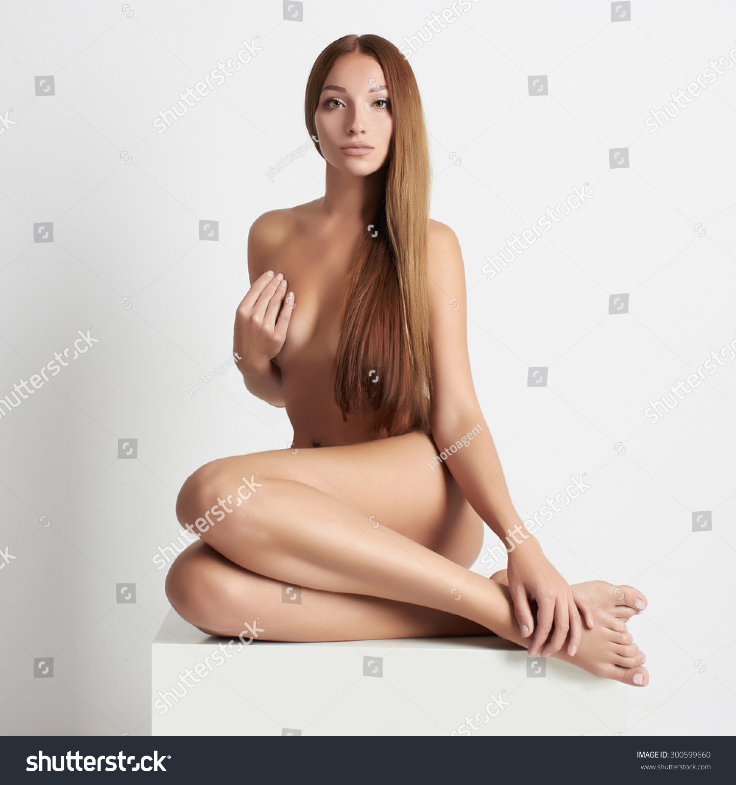 Very long hair girls naked