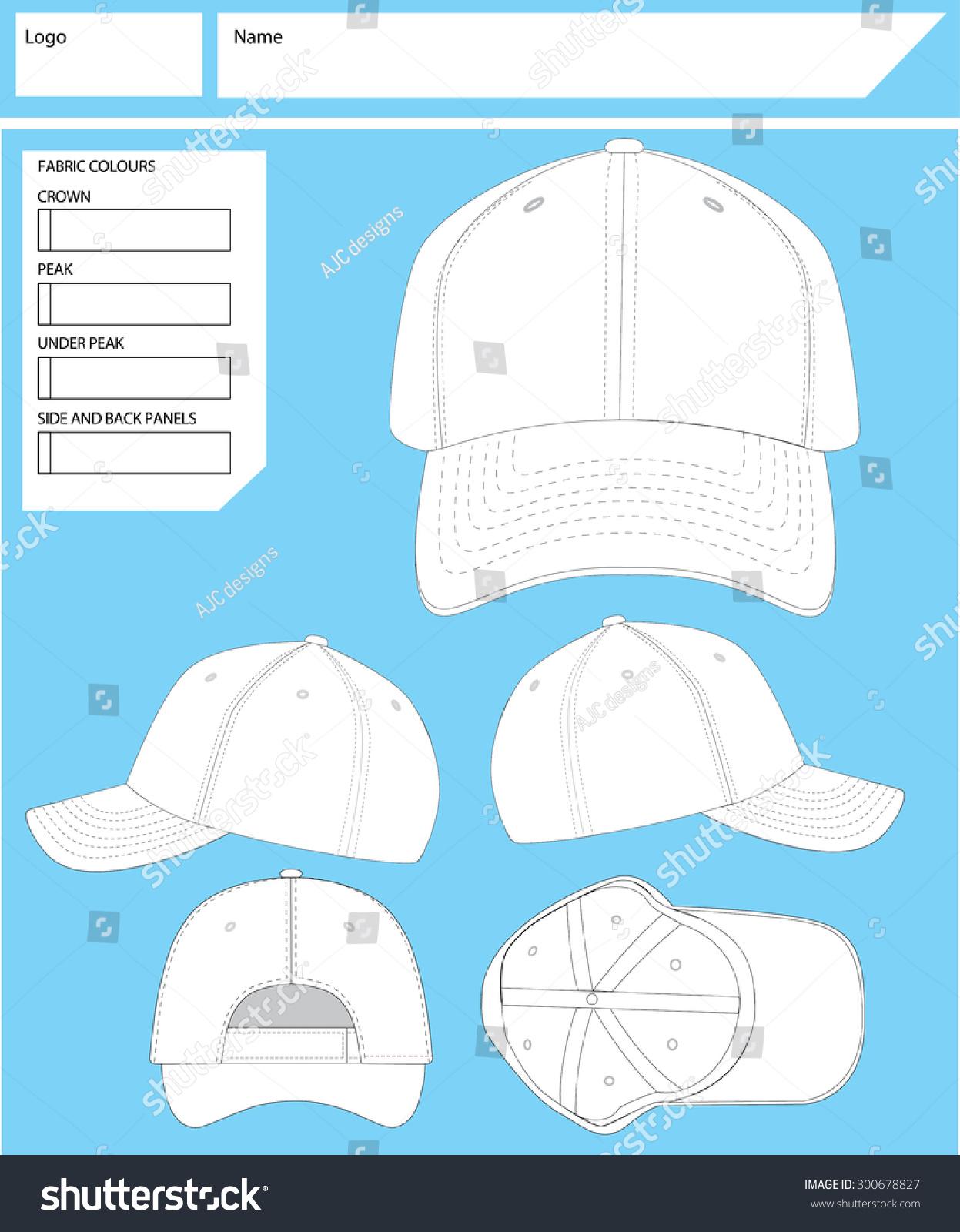 Blank Hat Template Stock Photo (Photo, Vector, Illustration ...