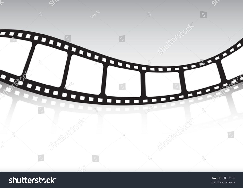 Old Film Roll Stock Vektorgrafik Lizenzfrei 30074194 Shutterstock