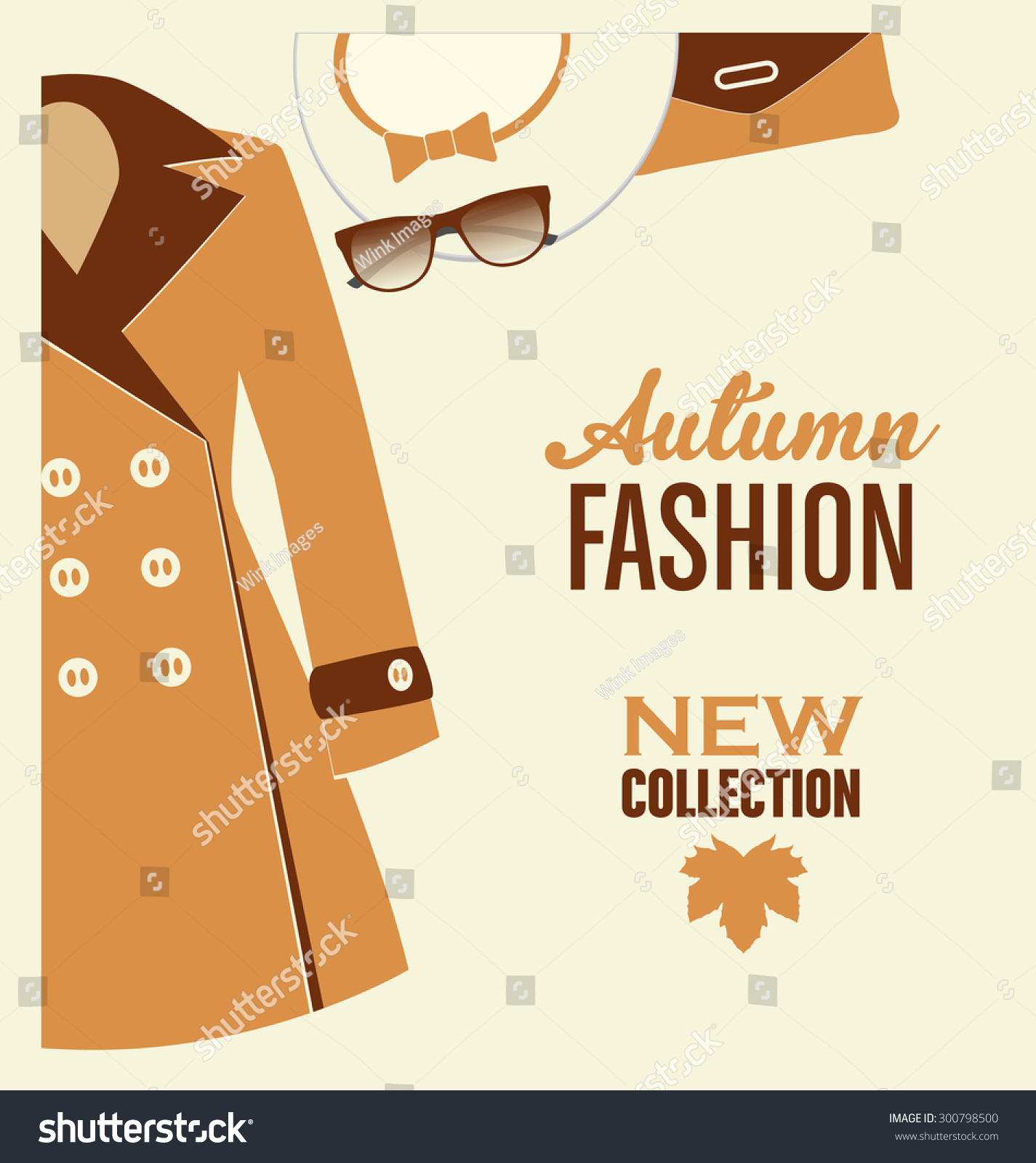 Poster design sample - Fashion Poster Design Termination Letter Sample Salary Slip Stock Vector Typographic Poster Design Autumn Fashion New