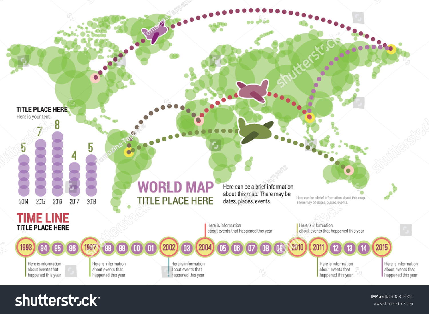 Vector world map green color infographic stock vector 300854351 vector world map in green color with infographic elements icons diagrams scale gumiabroncs Gallery