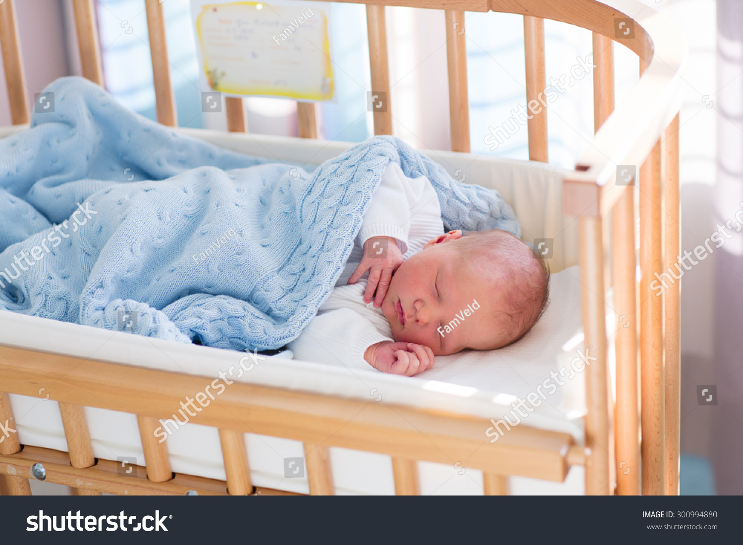 Newborn Baby Bedroom Newborn Baby Hospital Room New Born Stock Photo 300994880