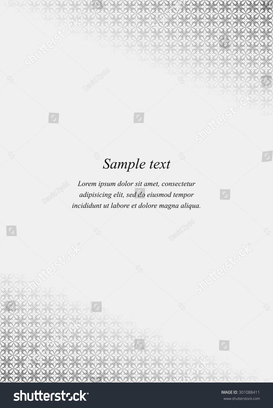Page corner design template invitation greeting stock vector page corner design template invitation greeting presentation card letter paper stopboris Image collections