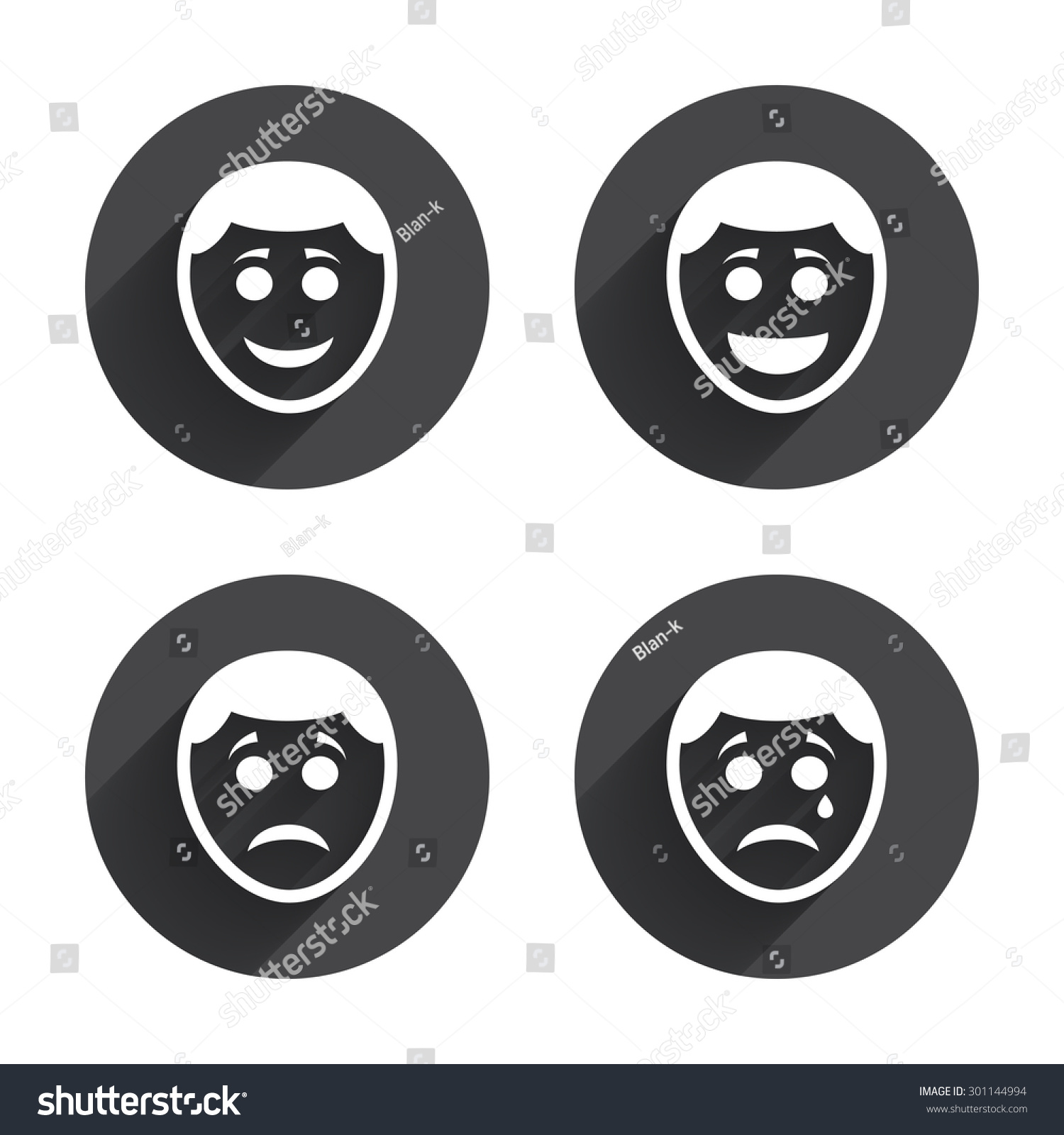 Crying Happy Face Symbol
