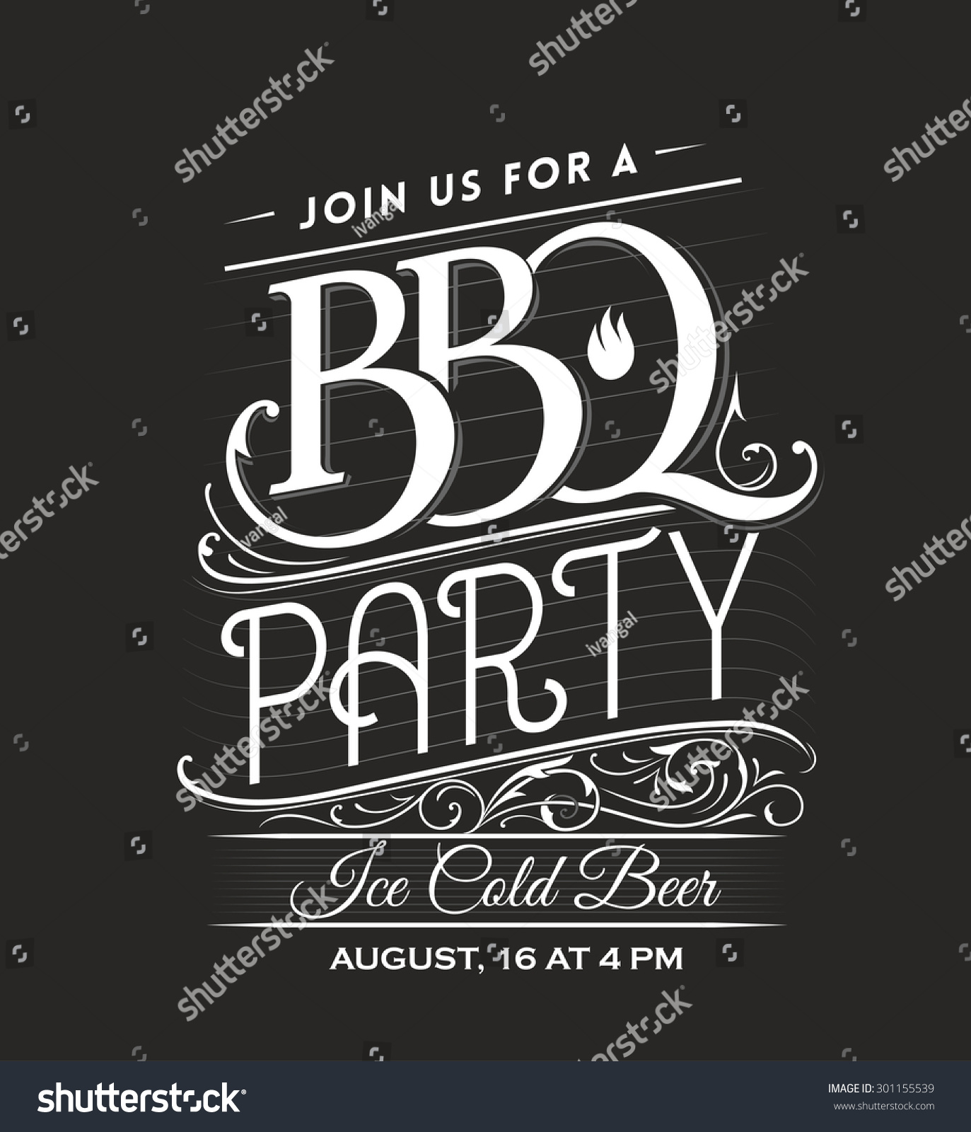 bbq invitation template - wowcircle.tk