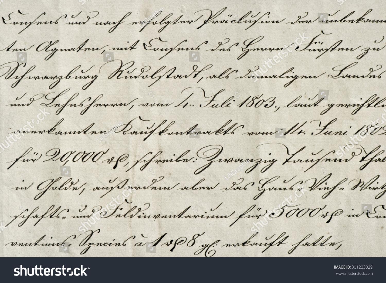Old fashioned handwriting alphabet 56