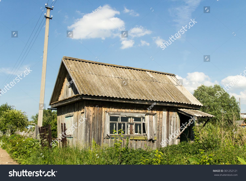 beautiful wooden garden sheds stock photo 301252121 shutterstock