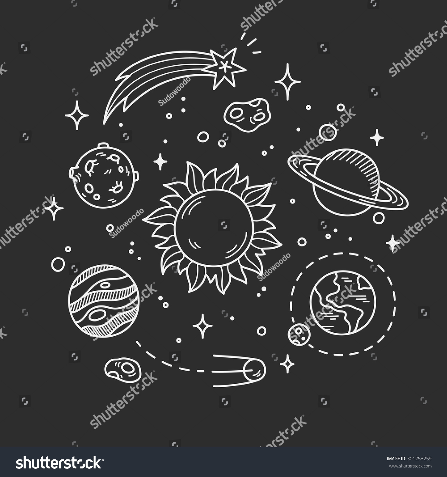 Space Line Art Background Wiring Diagrams Traxxas Slash 4x4 Parts Diagram Lzk Gallery Likewise Hand Drawn Doodle Decorative Stock Vector Royalty Free Rh Shutterstock Com Trippy Backgrounds As